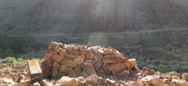 Túmulo del rey de la necrópolis de Arteara