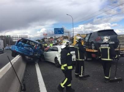 Accidente en Pinto