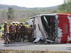 Accidente de autobús en Freginals