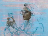 Jonathan Yeo - Cara IV (Selfie), 2015
