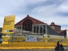 Las obras del Mercat de Sant Antoni finalizarán en octubre de 2017