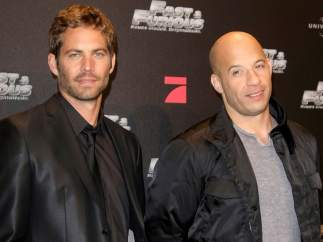 Vin Diesel y Paul Walker - Dominic Toretto y  Brian O'Conner ( Fast & Furious )