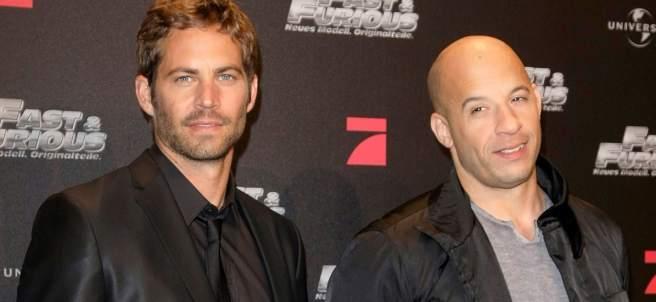 Vin Diesel y Paul Walker - Dominic Toretto y  Brian O'Conner ( Fast & Furious )