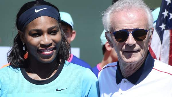 Serena Williams y Raymond Moore