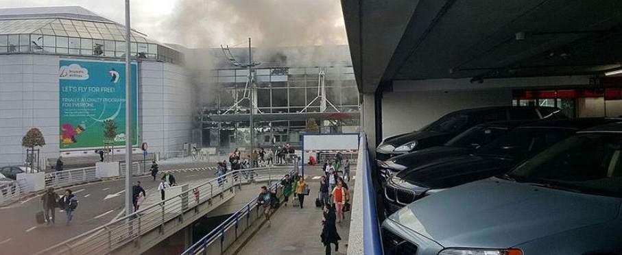 Cadena de explosiones en Bruselas
