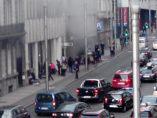 Columna de humo en Maelbeek