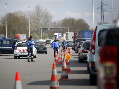 Controles policiales tras los ataques