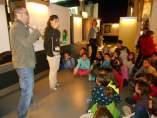 Visita a CosmoCaixa de alumnos de cuarto curso de la escuela municipal Tres Pins de Barcelona.