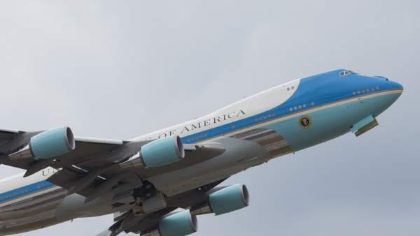 Air Force One de Obama