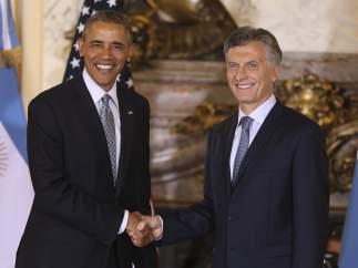 Obama se reúne con Macri en Argentina