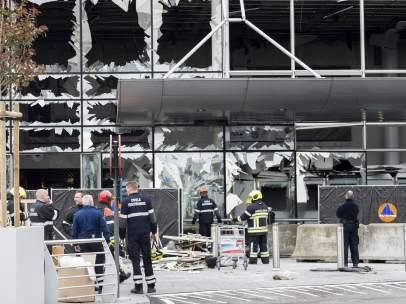 Escenario del atentado
