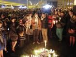 Marcha silenciosa en memoria de las víctimas