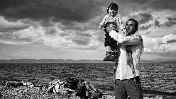 Tom Stoddart - Lesbos, Greece, 2015