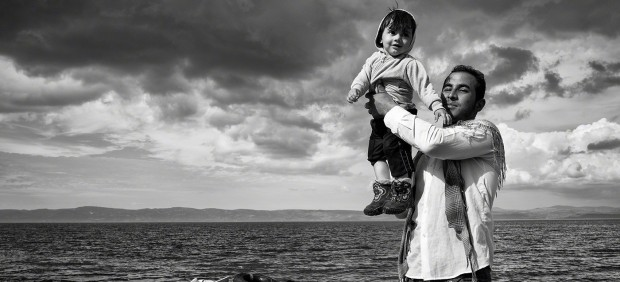 Tom Stoddart - Lesbos, Greece, 2015