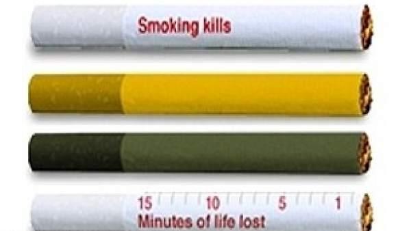 Advertencias en cigarrillos