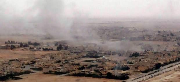 El Ejército sirio irrumpe enAl Qariatain, feudo de Estado Islámico próximo a Palmira