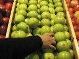 Cogiendo fruta