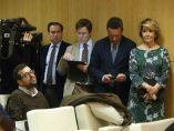 El PP irrumpe en una rueda de prensa de Carmena