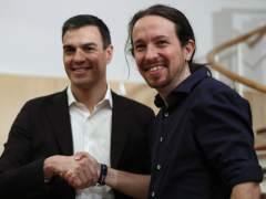 """Iglesias, al PSOE: """"Vamos a tener que gobernar juntos"""""""