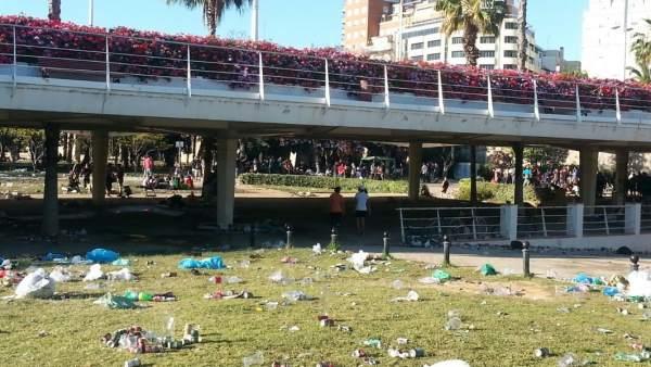 Brutícia, terrasses i soroll, principals queixes veïnals en la ciutat de València