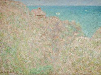'Falaises à Varengeville'/'Petit-Ailly, Varengeville, plein soleil', 1897