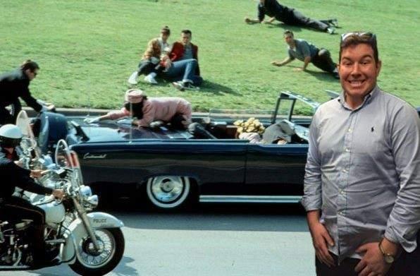 Ben Innes en el asesinato de Kennedy