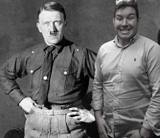 Ben Innes con Hitler