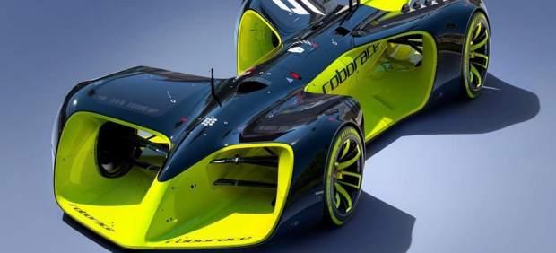 Muestran el primer coche de carreras eléctrico y sin piloto que participará en la Roborace