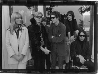 Le Velvet Underground et Nico avec Andy Warhol Hollywood Hills 1966