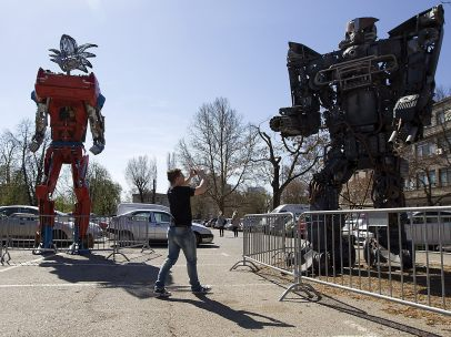 Transformers reciclados