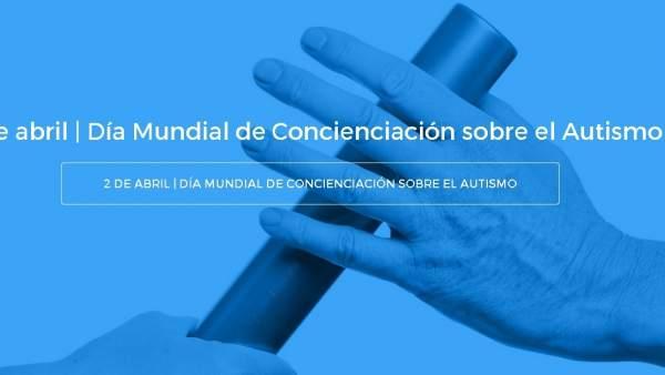 Imagen de la campaña 'Pásalo por el autismo'