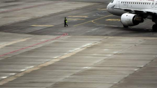 Pista del aeropuerto Adolfo Suárez Madrid-Barajas