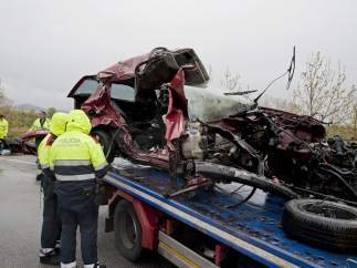 Accidente en Pont de Molins