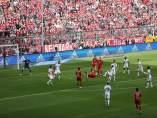 Golazo de Ribery ante el Eintracht