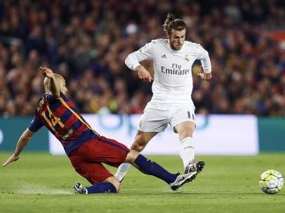 Mascherano y Bale