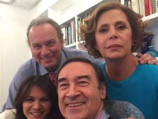 Bertín, Fabiola, Pedro J y Agatha