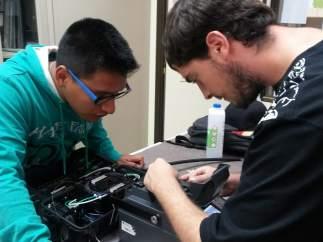Prácticas de instalar de fibra óptica
