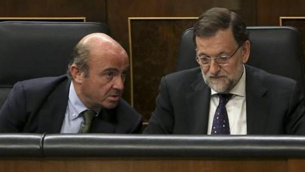 Rajoy y Guindos