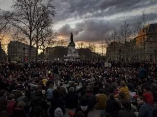 Manifestaciones paris reforma laboral