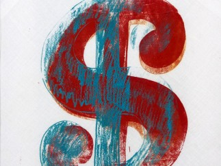 WARHOL - DOLLAR SIGN, 1981