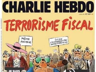 Portada Charlie Hebdo sobre los papeles de Panamá