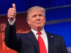 Lanzan rocas contra la Policía en un mitin de Trump en Nuevo México