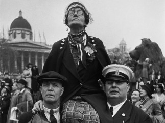 Henri Cartier-Bresson - Coronation of King George VI, Trafalgar Square, London, 12 May 1937