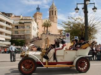 58ª edición del Rally Internacional de Coches de Época de Barcelona-Sitges