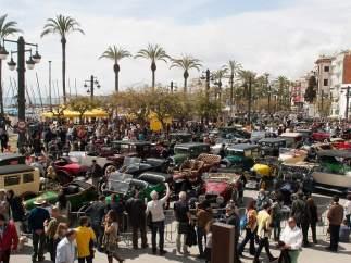 58ª edición del Rally Internacional de Coches de Época Barcelona-Sitges