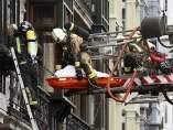 Muere un bombero en Oviedo