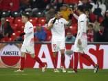 Gol del Sevilla en San Mamés