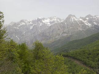 Picos de Europa nevado