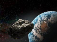Asteroide y la Tierra