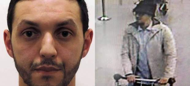 Abrini, ya detenido, es el 'hombre del sombrero', tercer terrorista del aeropuerto de Bruselas